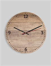 Personalised Initials & Photo Clock
