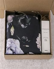 Personalised Dark and Dreamy Floral Tote Bag