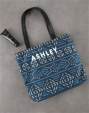 Personalised Charming Patterned Tote Bag