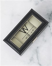 Personalised About Time Watch Box