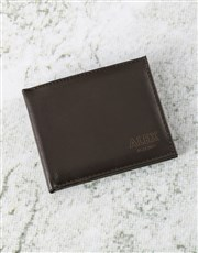 Personalised Wallet And Coffee Box