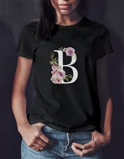 Personalised Peony Monogram Shirt In A Tin