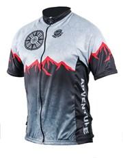 Personalised Mens Adventure Cycling Shirt