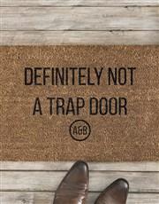 Personalised Trap Door Doormat