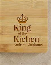 Let the king of the kitchen strut his cooking skil