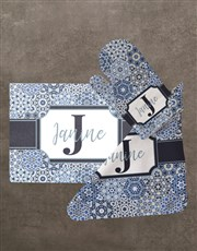 Personalised Initial Glass Chopping Board