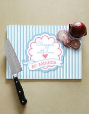 Send this special gift chop chop! This glass chopp