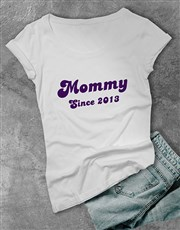 Make Grandma's day with a black T-shirt which feat