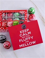 Keep it fluffy and mellow with this tray of 16 del