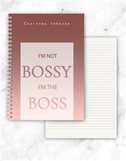 Whether they're bossy or not, your boss will just