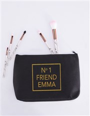 Spoil your bestie with this stylish black and gold