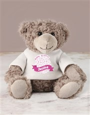 Spoil the brand new baby with a cuddly teddy bear
