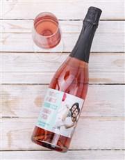 Personalised Favouritest Photo Wine
