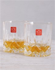 Personalised Monogram Whiskey and Crystal Crate