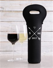 Personalised Love Wine Carrier
