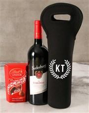 Personalised Monogram Wine Carrier