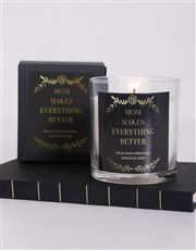 Personalised Makes Everything Brighter Candle