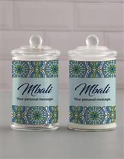 Personalised Suave Candle Jar