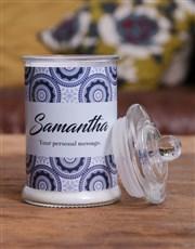 Personalised Calming Candle Jar