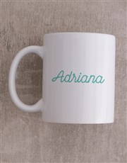 Personalised Blessed By God Mug