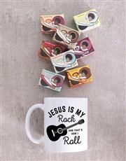 Personalised Jesus is my Rock Mug