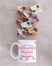 Personalised Gods Goodness Birthday Mug