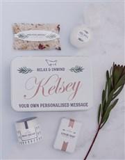 Personalised Bathtub Spoils Keepsake Box