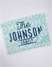 Personalised Family Blanket or Cushion