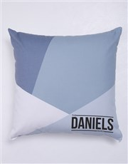 Personalised Geo Family Blanket or Cushion