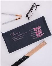 Personalised Pretty Pencil Bag