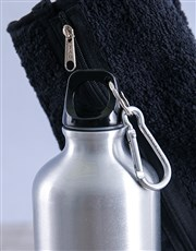 Personalised Water Bottle and Gym Towel