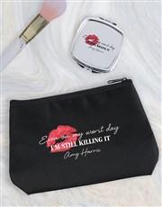 Personalised Still Killing It Cosmetic Bag