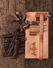 Personalised Crest Biltong Cutter
