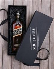 Personalised Johnnie Walker Whisky Box