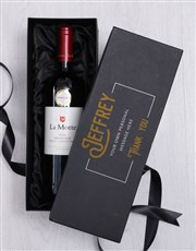 Personalised Red Wine Giftbox