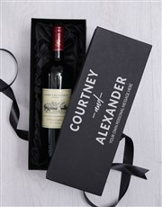 Personalised Love Wine Giftbox