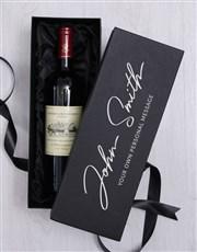 Personalised Signature Wine Giftbox