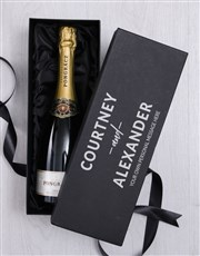 Personalised Love Bubbly Giftbox