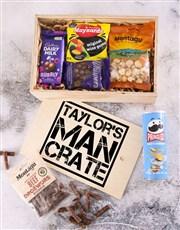 Personalised Man Crate