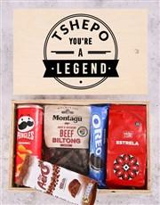 Personalised Legend Man Crate