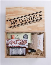 Personalised Title Man Crate