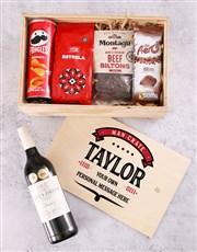 Personalised Vintage Man Crate