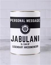 Personalised Legendary Bro Bucket