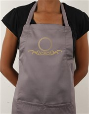 Personalised Family Crescent Apron