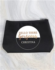 Personalised Gorgeous Cosmetic Bag