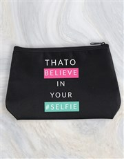 Personalised Selfie Cosmetic Bag