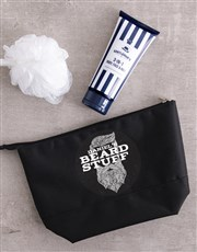 Personalised Gents Beard Grooming Bag