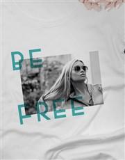 Ladies Contemporary Be Free Tshirt