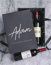 Personalised Wine Duo Giftbox