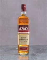 Personalised Plaque Scottish Leader